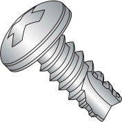 10X1  Phillips Pan Thread Cutting Screw Type 25 Fully Threaded 18 8 Stainless Steel, Pkg of 2500