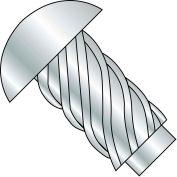 #10 x 1 Round Head Type U Drive Screw Zinc Bake - Pkg of 5000