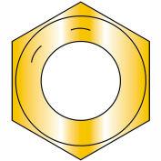 1-14 Fine Thread Hex Nut Grade 8 Zinc Yellow, Pkg of 190