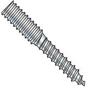 10-24x2 1/2 Hanger Bolt Full Thread Zinc, Pkg of 1000