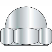 10-24  Two Piece Low Crown Cap Nut Nickel Plated, Pkg of 2000