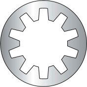 #10 Internal Tooth Lock Washer - 18-8 Stainless Steel - Pkg of 10000