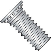 10-32X3/4  Self Clinching Stud 12 Rib Full Thread 300 Series Stainless Steel, Pkg of 8000