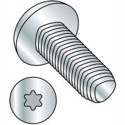 10-32X1 1/4  6 Lobe Pan Taptite Alternative Thread Rolling Screw Fully Thrd Zinc Bake & Wax,4000 pcs