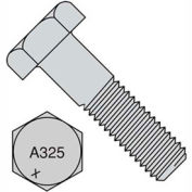 1 1/8-7X6  Heavy Hex Structural Bolts A325-1 Plain, Pkg of 15