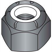 10-32  Nylon Insert Hex Lock Nut Black Zinc, Pkg of 2000