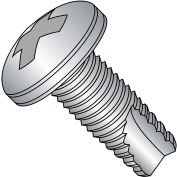12-24X1/2  Phillips Pan Thread Cutting Screw Type 23 Full Thrd 18 8 Stainless Steel, Pkg of 2500
