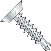 #12 x 5/8 Phillips Flat Undercut Full Thread Self Drilling Screw Zinc Bake - Pkg of 5000