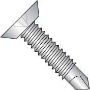 12-24X11/16 Phillips Flt Underct Full Thread Self Drill Scr Mach. Sc Thread 410 SS,2500 pcs