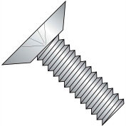 1/4-20X3/8  Phillips Flat Undercut Machine Screw Fully Threaded 18-8 Stainless, Pkg of 1000