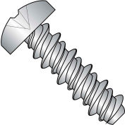 14X1/2  PHILLIPS PAN HIGH LOW SCREW FULLY THREADED 4 10 STAINLESS STEEL, Pkg of 2000
