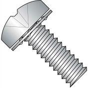 1/4-20X1/2  Phillips Pan Internal Sems Machine Screw Fully Threaded 18 8 Stainless, Pkg of 500