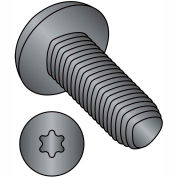 1/4-20X1/2  6 Lobe Pan Taptite Alternative Thread Rolling Screw Fully Thrd Blk Oxide & Wax,4000 pcs