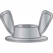 1/4-20X3/4X1  Washer Based Wing Nut Die Cast Zinc Alloy, Pkg of 1000