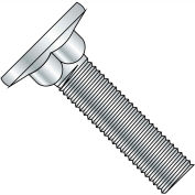 1/4-20X2 1/4  Carriage Bolt Flat Head Diameter .590-.640 Head Hgt .078-.109 Full Thrd Zinc,1000 pcs