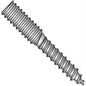1/4-20 x 2-1/2 Hanger Bolt Fully Threaded - 18-8 Stainless Steel - Pkg of 100