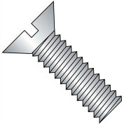 1/4-20X5 1/2  Slotted Flat Machine Screw Fully Threaded 18 8 Stainless Steel, Pkg of 200