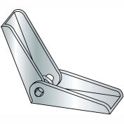 1/4-20  Toggle Wing Zinc, Pkg of 100