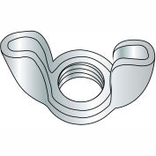1/4-20  Stamped Wing Nut Zinc, Pkg of 2000