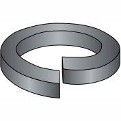 1/4  Medium Split Lock Washer 18 8 Stainless Steel Black Oxide and Oil, Pkg of 5000