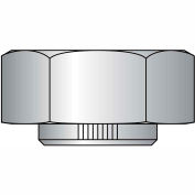 1 1/2-6  Stover Equivalent Lock Nut Grade C Cad And Wax, Pkg of 10