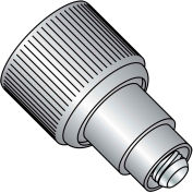 Made In USA 1032X.370X.187 Retractable Captive Panel Fastener Flare In Style Natural, Pkg of 20