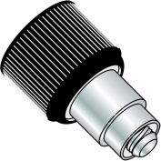 Made In USA 1032X.370X.187 Retractable Captive Panel Fastener Flare In Style Black Finish, Pkg of 20