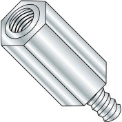6-32 x 7/16 Five Sixteenths Hex Male Female Standoff - Aluminum - Pkg of 1000