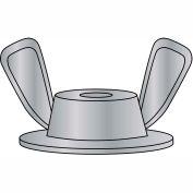 5/16-18X3/4X1  Washer Based Wing Nut Die Cast Zinc Alloy, Pkg of 1000