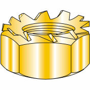 5/16-18  K Lock Nut Zinc Yellow and Bake, Pkg of 1500