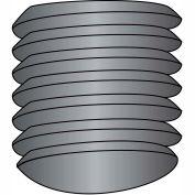 3/8-16X5/8  Coarse Thread Socket Set Screw Oval Point Plain, Pkg of 100