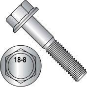 Hex Head Flange Frame Bolt - 3/8-16 x 3/4 - 18-8 Stainless Steel - Pkg Qty 500