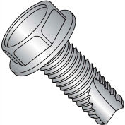 3/8-16X1 1/4  Unslot Ind Hex Washer Thrd Cutting Screw Type 23 Full Thrd 18 8 Stainless St,250 pcs