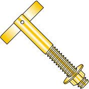 3/8x3 3/4 T Anchor Zinc Yellow, Pkg of 50