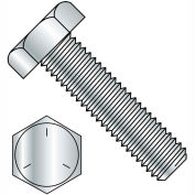 3/8-16X5  Hex Tap Bolt Grade 5 Fully Threaded Zinc, Pkg of 225
