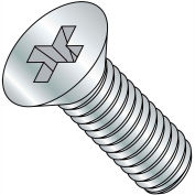 3/8-16X5  Phillips Flat Machine Screw Fully Threaded Zinc, Pkg of 100