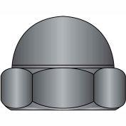 3/8-16  Two Piece Low Crown Cap Nut Black Oxide, Pkg of 1000