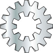 Made In USA 7/16  External Internal Combination Tooth Lock Washer Zinc, Pkg of 4000