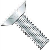 1/2-13X1  Phillips Flat Undercut Machine Screw Fully Threaded Zinc, Pkg of 600