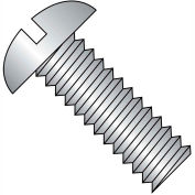 1/2-13X2 1/4  Slotted Round Machine Screw Fully Threaded 18 8 Stainless Steel, Pkg of 100