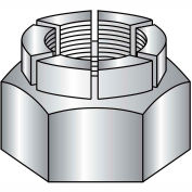 1/2-13  Flex Type Hex Lock Nut Full Height Light Cadmium and Wax, Pkg of 100
