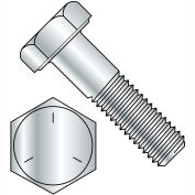 9/16-12X8  Coarse Thread Hex Cap Screw Grade 5 Zinc, Pkg of 50
