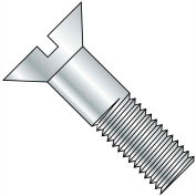 5/8-11X3  Slotted Flat Cap Screw Zinc, Pkg of 100