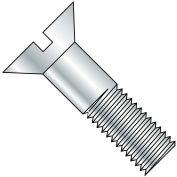 3/4-10X2  Slotted Flat Cap Screw Zinc, Pkg of 100