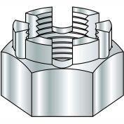 3/4-10  Castle Nut Zinc, Pkg of 100