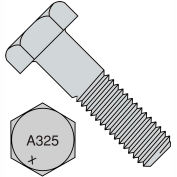 7/8-9X2 1/2  Heavy Hex Structural Bolts A 325 1 Hot Dipped Galvanized, Pkg of 100