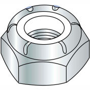7/8-14  NTE  Thin Pattern Nylon Insert Hex Lock Nut Zinc, Pkg of 200