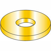1/4 AN960, Military Machine Screw Washer - Cadmium Yellow - Pkg of 5000