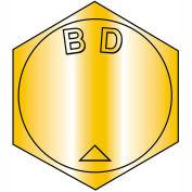 B5/8-18 x 2-1/2 MS90727, Alloy Steel B1821 Fine Cap Screw ASTM A354BD - Zinc Yellow - 50 pcs