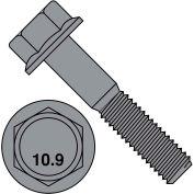 M10-1.5X30  DIN 6921 Class 10 Point 9 Metric Flange Bolt Screw  Plain, Pkg of 400